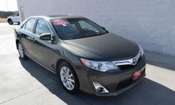 This 2012 Toyota Camry XLE is offered to you for sale by Smart Toyota of Quad Cities. If you are looking for a vehicle with great styling, options and incredible fuel economy, look no further than thi
