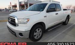 Wow! What a sweetheart! A great deal in Norman!   Imagine yourself behind the wheel of this stunning 2012 Toyota Tundra. This great Toyota Tundra would look so much better waiting for you in your driv
