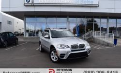 In a league of its own, our Carfax One Owner BMW 2013 X5 xDrive35d AWD is on display in Titanium Silver Metallic. You'll find that this SUV offers maximum driving pleasure with confident posture, tigh