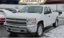 Options:  2013 Chevrolet Silverado 1500 Lt|4X4 Lt 4Dr Extended Cab 6.5 Ft. Sb|5.3L|8 Cylinder|Fuel Injected Flex Fuel|6-Speed Automatic 4Wd|Summit White|Power Drivers Seat|Roll Stability Control|Stabi