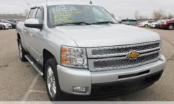 New Price! Priced below KBB Fair Purchase Price!  Chevrolet Silverado 1500  Clean CARFAX. Odometer is 22723 miles below market average!  **Bluetooth**, **Accident Free Carfax History Report**, **Leath