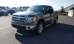 Welcome to Frederick Ford This vehicle has all of the right options. 4x4 ford f-150 extended cab. Chrome wheels with sterling grey metallic exteior paint. Bluetooth and a tow package. Give us a call t