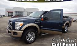 CLEAN CARFAX and ONE OWNER. King Ranch w/Chrome Package (6 Angular Chrome Step Bars, Accent Color Front Bumper, Accent Color Rear Bumper w/Step Pad, Body-Color Lower Bodyside Moldings, Chrome Exhaust