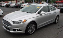 The Ford Fusion Titanium AWD is the highest of its class. Some specs are Front Power Lumbar Support Leather Steering Wheel Front Side Airbag Side Head Curtain Airbag Tilt Wheel Tire Pressure Monitor A