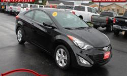 One Owner** and Alloy Wheels. Elantra GS, 2D Coupe, 1.8L 4-Cylinder DOHC 16V Dual CVVT, and 6-Speed Automatic with Overdrive. VOTED THE BEST PLACE TO BUY A NEW OR USED CAR IN ROSS COUNTY BY THE READER