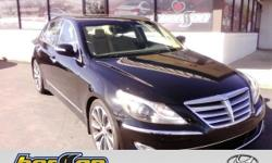 HYUNDAI CERTIFIED, ONE OWNER, CLEAN CARFAX, CARFAX CERTIFIED, NON-SMOKER, NAVIGATION, LEATHER, HEATED SEATS, SUNROOF, and SERVICE RECORDS AVAILABLE. Genesis 5.0 R-Spec and Hyundai Certified. Previous
