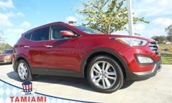 IIHS Top Safety Pick. Only 28,776 Miles! Delivers 27 Highway MPG and 20 City MPG! This Hyundai Santa Fe boasts a Turbocharged Gas I4 2.0L/122 engine powering this Automatic transmission. Windshield wi
