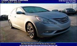 Be the talk of the town when you roll down the street in this handsome 2013 Hyundai Sonata. This is an outstanding one-owner Sonata and it's ready for you to take home today. No sordid history on this