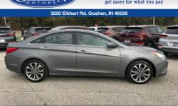 There is no better time than now to buy this hot 2013 Hyundai Sonata! Just Arrived. Real gas sipper!!! 34 MPG Hwy!! CARFAX 1 owner and buyback guarantee!!! Safety equipment includes: ABS, Traction control, Curtain airbags, Passenger Airbag, Front