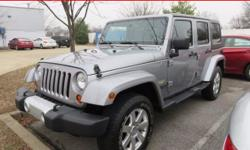 ***HARD TOP*** LOW MILES*** 4 DOOR*** BEAUTIFUL INSIDE AND OUT***SAHARA EDITION*** WON'T LAST*** How great a day would you have riding away in this terrific-looking and fun 2013 Jeep Wrangler? This SU