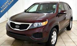 This 2013 Kia Sorento hits the lot with all wheel drive and plenty of other tremendous features. &ltBR&gt&ltBR&gt The All Wheel Drive system is great and comes here just in time for a winter's co