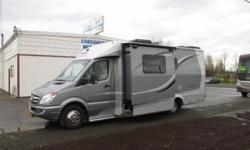 2013 Leisure Travel Unity..Mercedes Diesel...slideout 18,891 miles...One owner, non-smoker, no pets This is the U24MB model with Mercedes 3.0L V6 Diesel Mercedes 5 speed automatic transmission Built i
