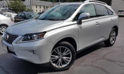 2013 Lexus RX 450h. 3.5L V6 DOHC VVT-i 24V, AWD, and Black Leather. Gas super saver. Aerodynamic ride quality. An Exclusive Collection of Pre-Owned vehicles with special 1.9% APR available up to 60 mo
