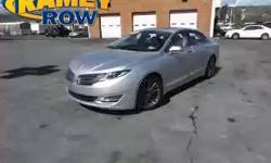 AWD. Are you READY for a Lincoln?! Come to Ramey Chevrolet GMC Buick! Previous owner purchased it brand new! Want to save some money? Get the NEW look for the used price on this one owner vehicle. Thi