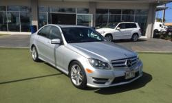 This 2013 Mercedes-Benz C-Class C250 Sport is proudly offered by Mercedes-Benz Of Maui CARFAX BuyBack Guarantee is reassurance that any major issues with this vehicle will show on CARFAX report. This
