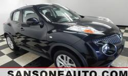 *NISSAN CERTIFIED*, *ONE OWNER*, *CLEAN CAR FAX*, *FRESH DETAIL*, *NON SMOKER*, and *CELEBRATING OVER 50 YEARS IN BUSINESS*. How inviting is this great-looking 2013 Nissan Juke? Nissan Certified Pre-O