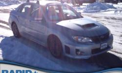 Thank you for visiting another one of Rapid Chevrolet's online listings!  Please continue for more information on this 2013 Subaru Impreza Sedan WRX WRX with 66,454 miles.   When driving an all wheel