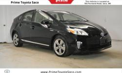 CARFAX One-Owner! Toyota Certified! 2013 Toyota Prius Four in Black! With these sought after options: MP3- USB / I-Pod Ready, Power Locks, Power Windows, Cruise Control, Keyless Entry, Passed Rigorous