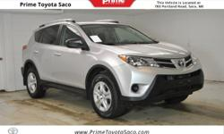 CARFAX One-Owner! Toyota Certified! 2013 Toyota RAV4 LE in Classic Silver Metallic! With these sought after options:, All Wheel Drive, MP3- USB / I-Pod Ready, Hands Free Calling, Back Up Camera, Power