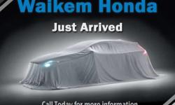 **WAIKEM CERTIFIED**BUY WITH PEACE OF MIND** WE VALUE YOUR BUSINESS**UP FRONT VALUE PRICING**WAIKEM HONDA WE MAKE IT SIMPLE**  Options:  Front Wheel Drive|Keyless Start|Power Steering|4-Wheel Disc Brakes|Aluminum Wheels|Tires - Front All-Season|Tires -