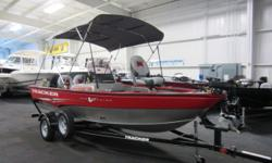 VERY NICE 2013 TRACKER PRO GUIDE V16 SC WITH FACTORY ENGINE WARRANTY THRU 8-26-2016! A 20 hp Mercury 4-stroke outboard with power trim powers this aluminum deep-V fishing boat. Features include: boat