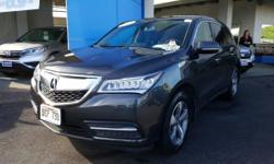 Thank you for your interest in one of Big Island Honda - Hilo's online offerings. Please continue for more information regarding this 2014 Acura MDX with 28,139 miles. Off-road or on the street, this