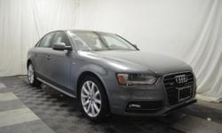 FUEL EFFICIENT 29 MPG Hwy/20 MPG City! CARFAX 1-Owner, Extra Clean, GREAT MILES 29,488! Heated Leather Seats, Moonroof, All Wheel Drive, Turbo Charged Engine, AUDI GUARD PROTECTION KIT, COLD WEATHER P