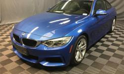 BMW Certified. Turbocharged! Wow! Where do I start?! If you've been looking to find just the right 2014 BMW 4 Series, well stop your search right here. This is the perfect car that is certain to fit y