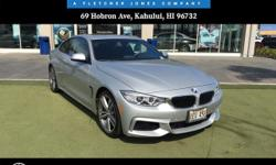 Mercedes-Benz Of Maui is honored to present a wonderful example of pure vehicle design... this 2014 BMW 4 Series 435i only has 7,417 miles on it and could potentially be the vehicle of your dreams!