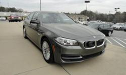 We are excited to offer this 2014 BMW 5 Series. This BMW includes: REAR VIEW CAMERA Back-Up Camera Rear Parking Aid PREMIUM PACKAGE HD Radio Power Door Locks Keyless Entry Satellite Radio Remote Trunk