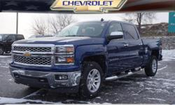Options:  2014 Chevrolet Silverado 1500 Lt|4X4 Lt 4Dr Crew Cab 5.8 Ft. Sb|**Local Trade-In**|**Towing Package**|**Chrome Wheels**|And **Remainder Of Factory Warranty Still Applies!**. Isn't It Time Fo
