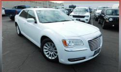 *Come take a look at this 2014 Chrysler 300! It has passed our service department's 125 point inspection and is now Chrysler Certified Pre-Owned which means you will have the peace of mind knowing there is FACTORY warranty intact when you drive off