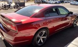 """2014 Dodge Charger RT 100th anniversary edition in """"Red"""" with 14k miles, 5.7 hemi, leather, loaded. Call Arie for info and special pricing below $26,000.00"""