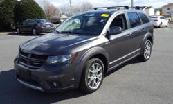 Sunroof/Moonroof, Leather Seats, and **All-Wheel Drive**. Journey R/T and AWD. Happily wave as you drive by another gas station.   Price Dover, home of the Used Car Super Stars at the World Famous Use