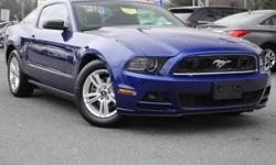 DARCARS Ford Kia Lanham is excited to offer this 2014 Ford Mustang. This Ford includes: EQUIPMENT GROUP 102A Fog Lamps Auto-Dimming Rearview Mirror MP3 Player Power Driver Seat Bluetooth Connection Au