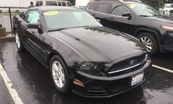 2014 Ford Mustang V6 in Black and ***CLEAN CARFAX REPORT***. What a price for a 14! You'll NEVER pay too much at Henry Curtis Ford Mercury! Ford has outdone itself with this fantastic 2014 Ford Mustang. It just doesn't get any better at this price! Have