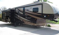 """This is a 2014 Forest River Cardinal 3450RL that has all the bells and whistles, it is 40'4"""" in length, has Full Body Paint, Auto Leveling Jacks, Auto Satellite Finder, 2-AC's, Auto Awnings (2), 4 sli"""