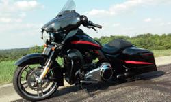 Make: Harley Davidson Model: Other Mileage: 18,500 Mi Year: 2014 Condition: Used CVO gauges and trim. JBL speakers in fairing and Infinity speakers in CVO lowers. HD heated grips. Power Vision that's