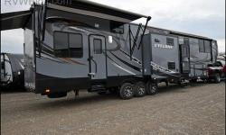 PRICED TO SELL!!! 2014 Heartland Cyclone 4100 KING, 2014 Heartland Cyclone 4100HD King, This fifth wheel toy hauler has 12' cargo garage, and a luxury suite for you when you want to relax in comfort!