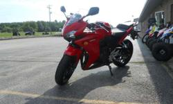 (815) 615-0023 ext.469 Don't miss this deal! Middleweight. Not Middle Of The Road. The initials CBR are known on racetracks the world over. So you can be sure that any Honda that carries them has