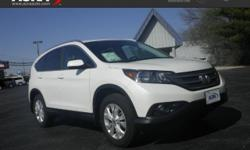 Used Honda CR-V, options include:  Satellite Radio,  Electronic Stability Control, a Power Tilt/Sliding Sunroof,  All Wheel Drive, a Sunroof, a Navigation System,  Heated Seats,  Keyless Entry,  Multi