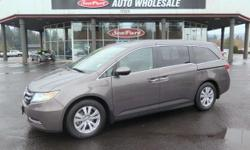 """Sturdy and dependable, this Used 2014 Honda Odyssey EX packs in your passengers and their bags with room to spare. This Honda Odyssey has the following options: Window Grid Antenna, Wheels: 17"""" A"""