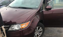 Thank you for your interest in one of Gurley Leep Honda of Elkhart's online offerings. Please continue for more information regarding this 2014 Honda Odyssey EX with 34,021 miles. The incredibly low m