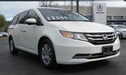 Options:  2014 Honda Odyssey Ex|White/|V6 3.5 L Automatic|32927 Miles| Front Wheel Drive| Power Steering| Abs| 4-Wheel Disc Brakes| Brake Assist| Aluminum Wheels| Tires - Front All-Season| Tires - Rea