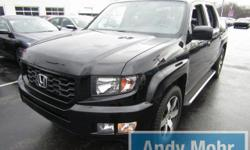 CARFAX One-Owner. Clean CARFAX. 2014 Honda Ridgeline SE in Crystal Black Pearl, 7 Speakers, Alloy wheels, Automatic temperature control, Electronic Stability Control, Front fog lights, Heated Front Bu