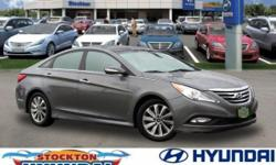 Sonata Limited, FWD, Phantom Black Metallic, and Leather. Look! Look! Look! Yes! Yes! Yes! Put down the mouse because this 2014 Hyundai Sonata is the car you've been searching for. Hyundai has establi