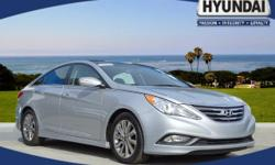 Check out this certified 2014 Hyundai Sonata . Its Automatic transmission and Regular Unleaded I-4 2.4 L/144 engine will keep you going. This Hyundai Sonata features the following options: Wireless St