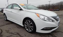We are excited to offer this 2014 Hyundai Sonata. This vehicle is loaded with great features, plus it comes with the CARFAX BuyBack Guarantee. Why spend more money than you have to? This Hyundai Sonat