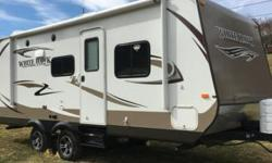 2014 Jayco Whitehawk (PA) - $19,900 Length: 24 ft Exterior: White/Tan w/ Brown accents Slideouts: 1 (1 awning) Sleeps: up to 6 (Queen, dinette sleeper, sleeper sofa) Air Conditioning: Yes Queen Murphy