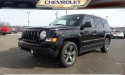 Options:  2014 Jeep Patriot Latitude|Latitude 4Dr Suv|**Moonroof**|**Remainder Of Factory Warranty Still Applies!**|And **Fwd - Great All Year 'Round - Better Mpg!. Won't Last Long! There Is No Better
